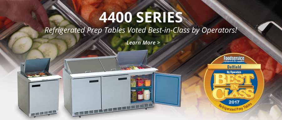 4400 Refrigerated Prep Tables
